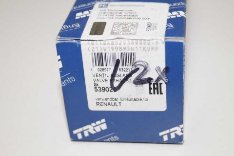 Клапан випускний 2.5 Renault Master (Movano,Interstar) 2003-2010 TRW image 2 | Renaultmaster.com.ua