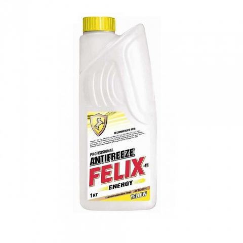 Антифриз Felix Energy (жовтий) 1кг х5 image 1 | Renaultmaster.com.ua