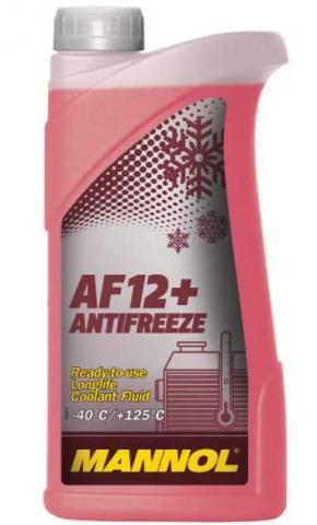 Антифризи Antifreeze AF 12-40C/red/ 1L image 1 | Renaultmaster.com.ua