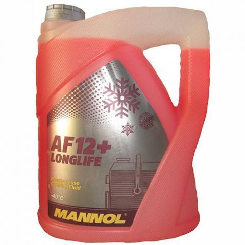 Антифризы Antifreeze AF 12-40C/red/ 5L image 1 | Renaultmaster.com.ua