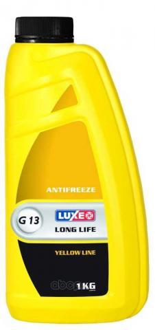 Антифриз LUXE -40 желтый 1кг image 1   Renaultmaster.com.ua
