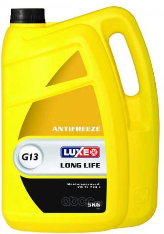 Антифриз LUXE -40 желтый 5кг image 1 | Renaultmaster.com.ua