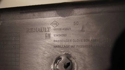 Бардачок пассажирский нижний Renault Trafic 1.6 Б/У image 5 | Renaultmaster.com.ua