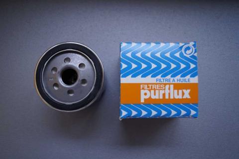 Фільтр масла Renault Trafic 1.9 Рurflux стандартний image 3 | Renaultmaster.com.ua