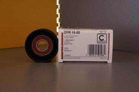 Ролик генератора Renault Master Caforro з кондиціонером image 2 | Renaultmaster.com.ua