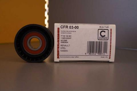 Ролик генератора Renault Master Caforro без кондиціонера image 1 | Renaultmaster.com.ua