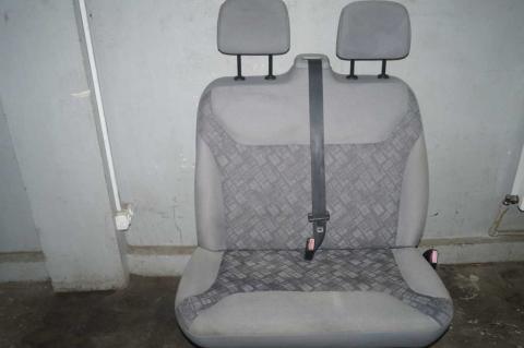 Сиденье пассажирское двойное Renault Trafic (Vivaro, Primastar) Б/У image 1