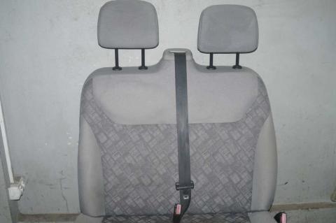 Сиденье пассажирское двойное Renault Trafic (Vivaro, Primastar) Б/У image 2
