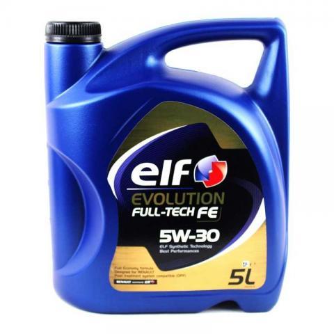 Олива моторна ELF Evolution Fulltech FE 5W-30 image 1 | Renaultmaster.com.ua