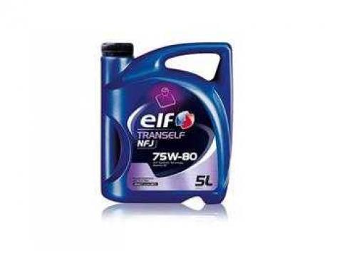 ELF Tranself NFJ 75W80 5L, олива трансмісійна image 1