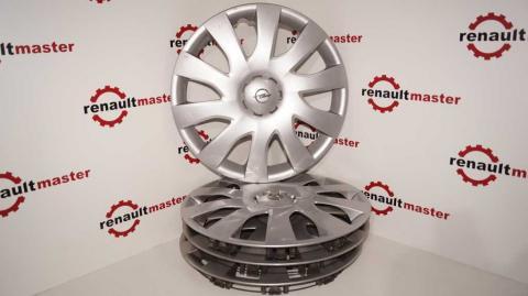 Колпак колесный серый Renault Trafic (Vivaro, Primastar) 1.6 R16 Б/У image 1 | Renaultmaster.com.ua