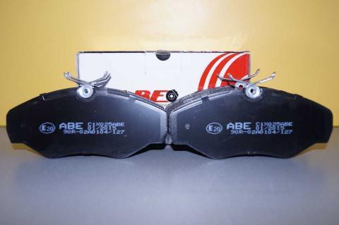 Дисковые тормозные колодки Renault Trafic ABE перед r16 image 1 | Renaultmaster.com.ua