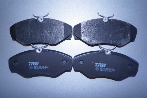 Дискові гальмівні колодки Renault Trafic TRW перед image 3 | Renaultmaster.com.ua