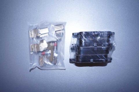 Дисковые тормозные колодки Renault Kangoo бампера заднего зад с 2008 image 3 | Renaultmaster.com.ua