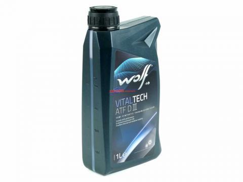 Трансмісійна олива WOLF vitaltech ATF 1L image 1 | Renaultmaster.com.ua