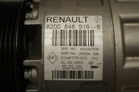Компресор кондиціонера Renault Master 2.3 (Movano,NV 400) 2010- OE image 4