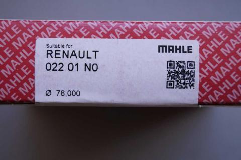 Комплект поршневих кілець Renault Kangoo 1.5 MAHLE image 5 | Renaultmaster.com.ua