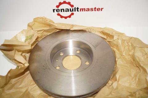 Гальмівний диск передній Renault Trafic (Vivaro, Primastar) OE image 4 | Renaultmaster.com.ua