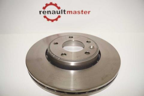 Гальмівний диск передній Renault Trafic (Vivaro, Primastar) OE image 6 | Renaultmaster.com.ua