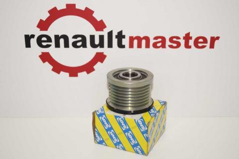 Шкив генератора 7PK +A/C Renault Mater 2.5 SNR image 6