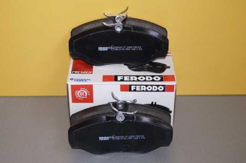 Монтажный комплект дисковых колодок Renault Trafic Ferodo перед image 1 | Renaultmaster.com.ua
