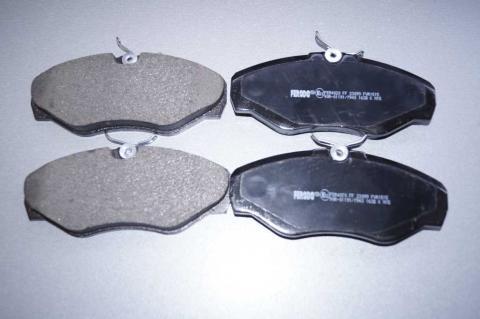Монтажний комплект дискових колодок Renault Trafic Ferodo перед image 2 | Renaultmaster.com.ua
