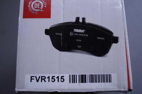 Монтажный комплект дисковых колодок Renault Trafic Ferodo перед image 3 | Renaultmaster.com.ua