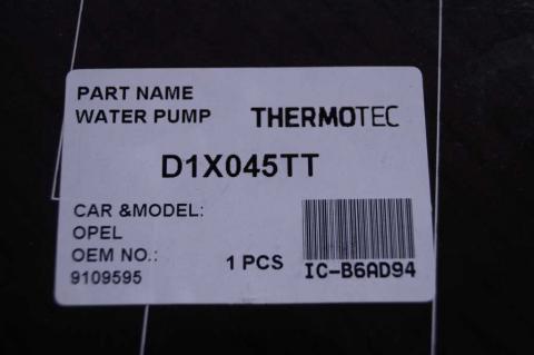 Водяной насос Renault Master 2.5 Thermotec image 4 | Renaultmaster.com.ua