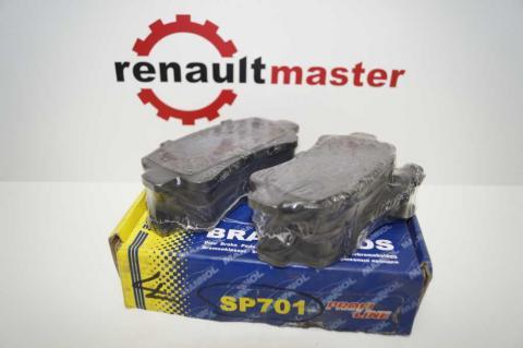 Гальмівні колодки задні SCT Master/Movano 98- image 1 | Renaultmaster.com.ua