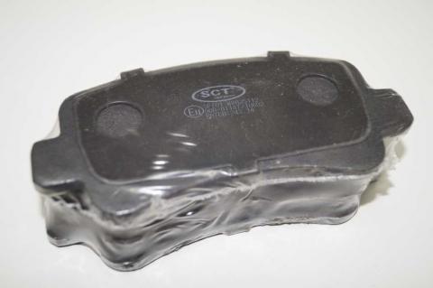 Гальмівні колодки задні SCT Master/Movano 98- image 2 | Renaultmaster.com.ua