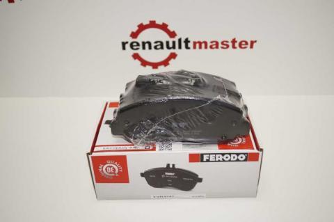 Тормозные колодки передние Master10 - Ferodo image 1