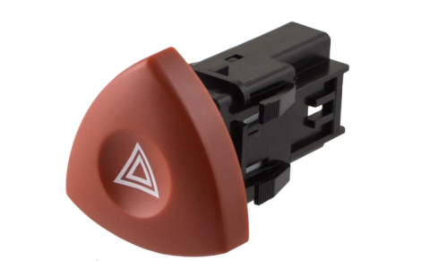 Кнопка аварійки Renault Master, Trafic image 1